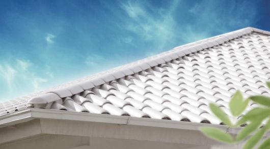 telhado branco