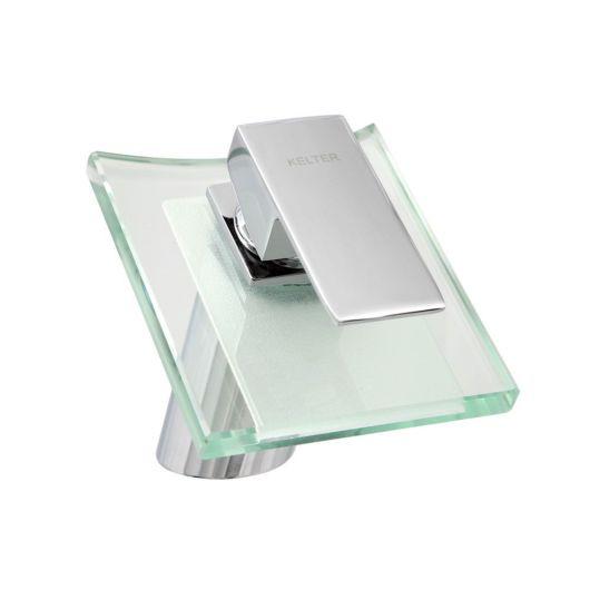 Torneira quadrada de vidro simples