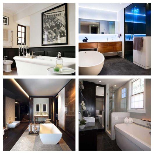 60 ideias de decoração de banheiro masculino + dicas