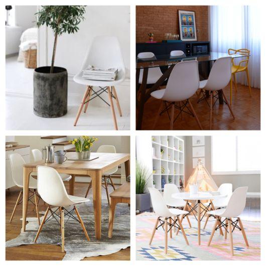 De fato, a linha de cadeira branca Eames chama atenção pelo design e qualidade