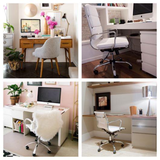 80 estilos de cadeira branca perfeitos para a decoração da sua casa