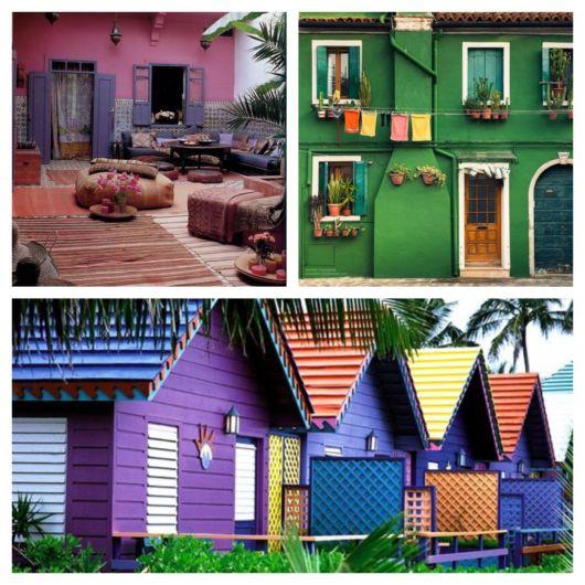 Escolha as cores que mais agradam você e que se complementem perfeitamente