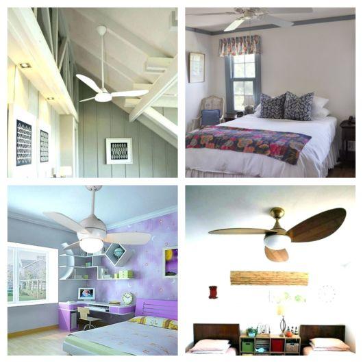 ventilador de teto para quarto