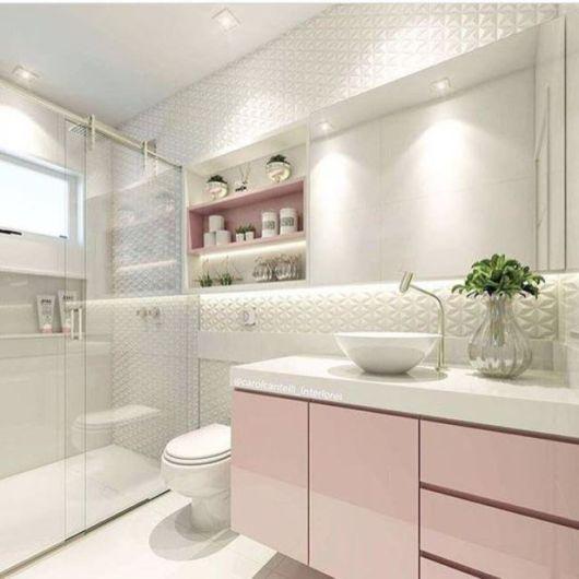 banheiro moderno para mulheres