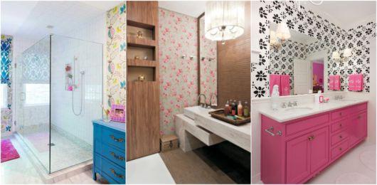 Decoração de banheiro feminino