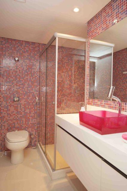 banheiro pequeno para mulheres