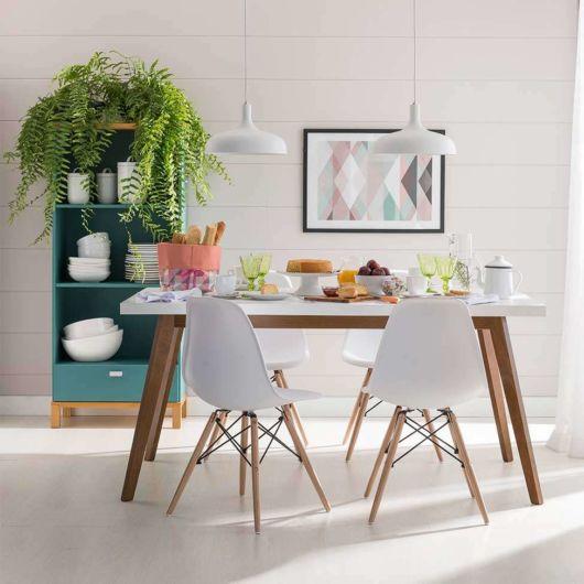 cadeira branca Eames