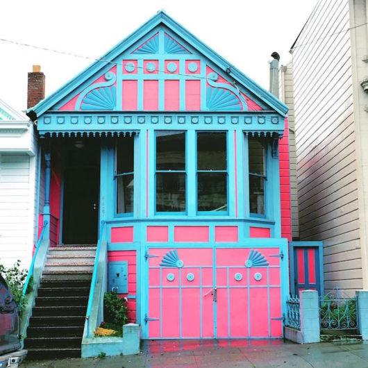 casas coloridas antigas