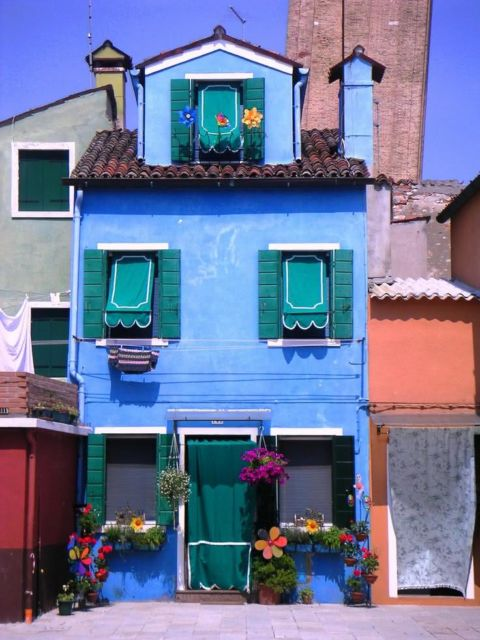 casas coloridas simples