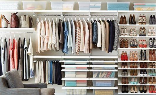 modelos de closet suspenso