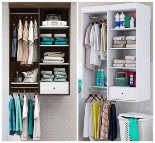 closet suspenso para quarto de homem