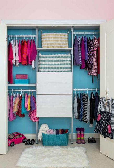 closet suspenso branco para criancinhas