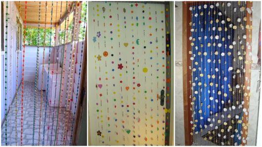As cortinas de miçangas são indicadas para decorar portas que dividem ambientes