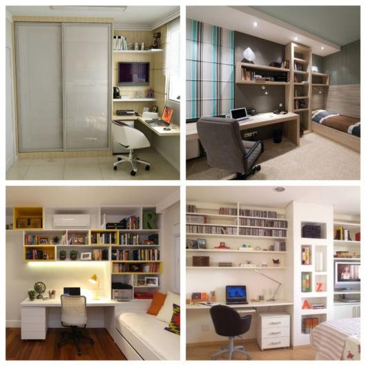Você pode montar seu escritório em diversos espaços disponíveis