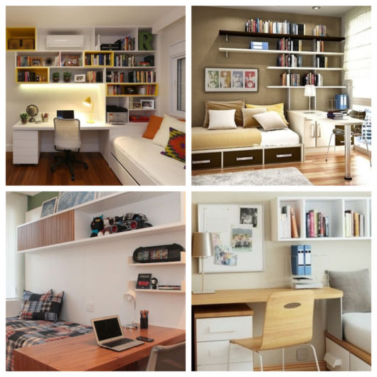 O home office é tendência entre muitos projetos e ideal para vários profissionais