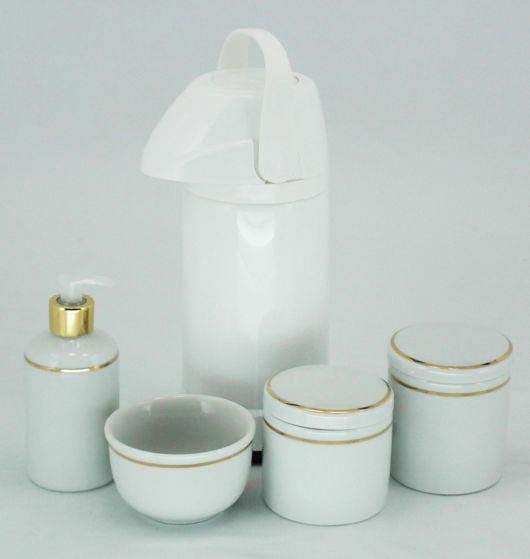 Kit de porcelana para higiene