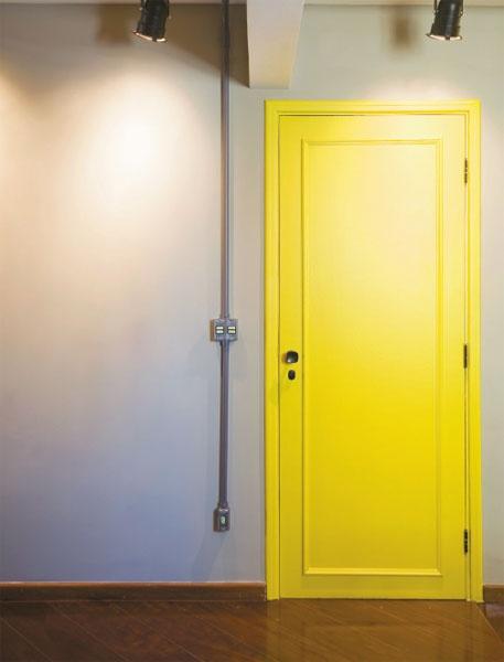 porta laqueada colorida