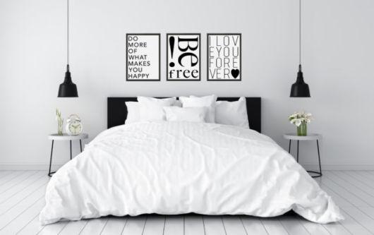 quarto branco feminino