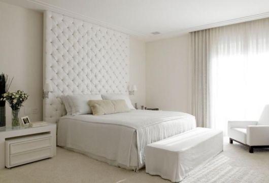 quarto branco gelo