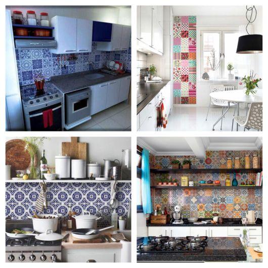De fato, o aspecto da cozinha muda bastante com esses modelos de azulejos
