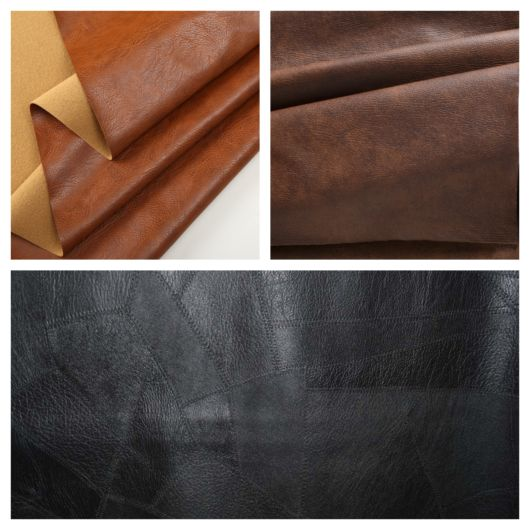 Tecido para sofá de couro