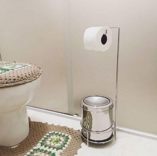suporte banheiro