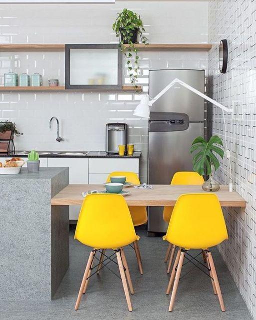 cozinha com estilo industrial