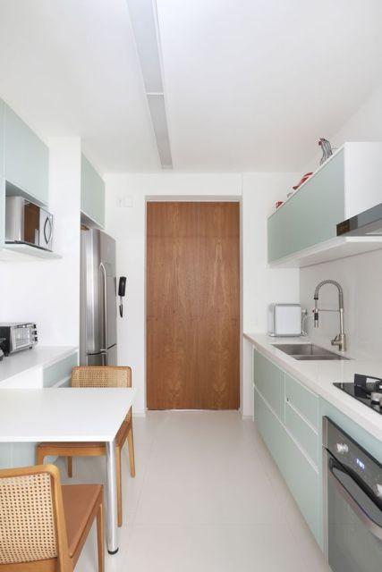 cozinha clean e moderna