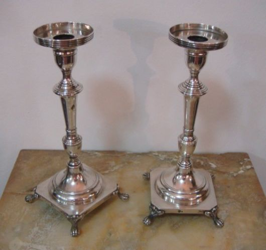 castiçal de prata