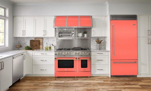 Cozinha salmão