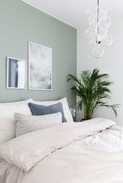 quarto com planta