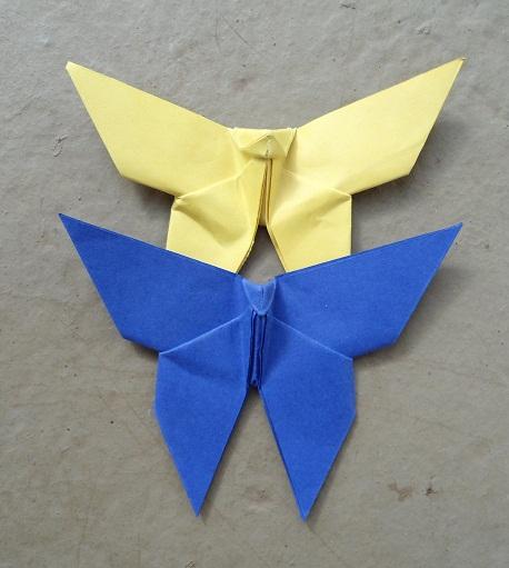 dobradura com papel