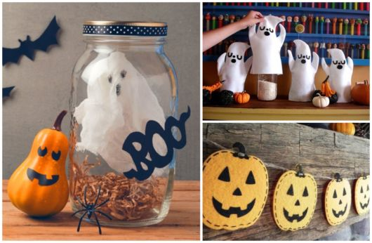 enfeites de Halloween