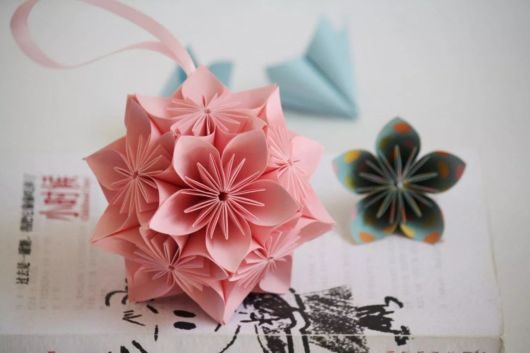 origami flor de sakura