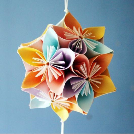 origami flor de cerejeira