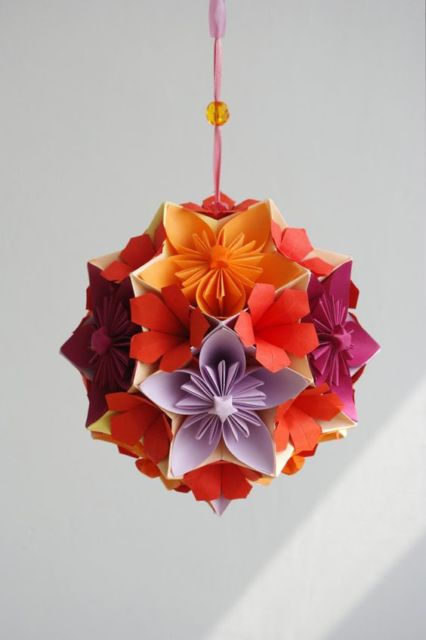 origami de flores