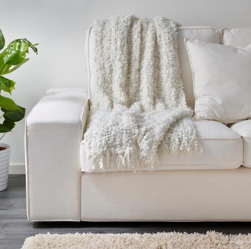 Manta para sof 70 modelos lindos na decora o do ambiente - Manta para sofa ...