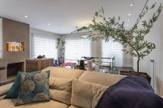 Sala com plantas