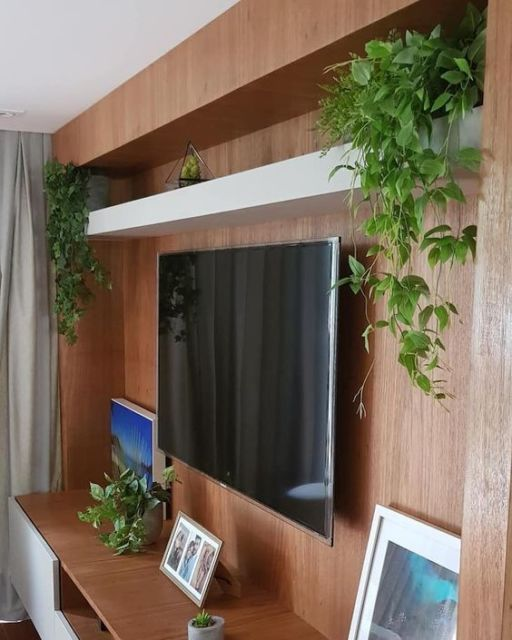 painel para TV decorado