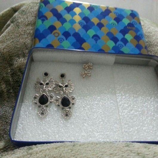 lata para bijuterias