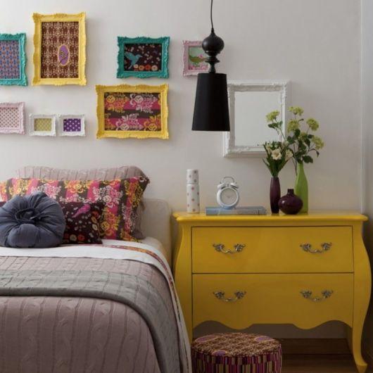 Quadros para quarto feminino vintage