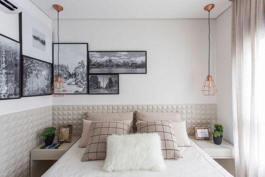 Quadros modernos para decorar quartos femininos