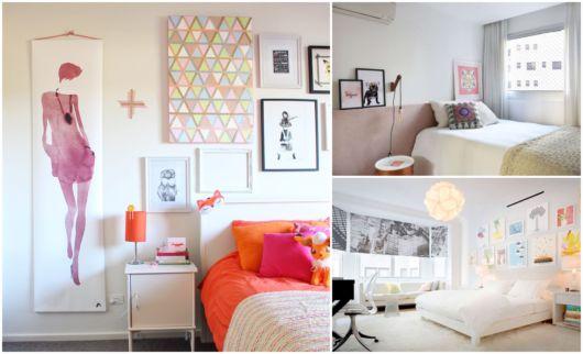 Quadros diversos para decorar quartos