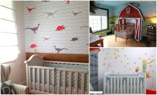 Temas para quarto de bebê masculino