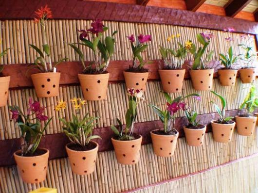 vasos para orquídeas