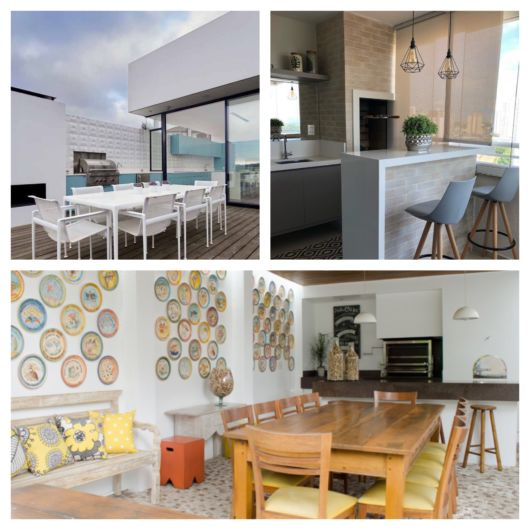 Área de churrasqueira – 70 projetos incríveis para te ajudar a decorar!