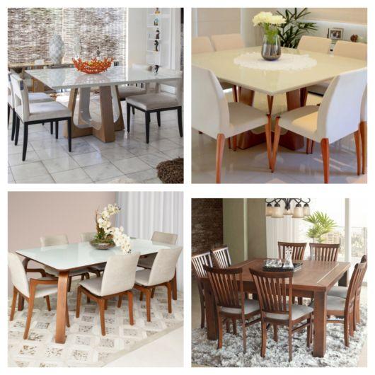 87 modelos de mesas de jantar para se inspirar – Como escolher?
