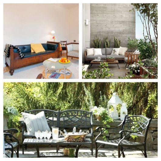 Sofá rústico – 50 opções perfeitas para uma decoração rústica!