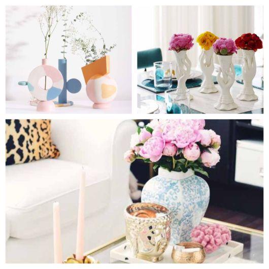 vasos decorativos para sala