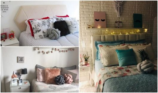 decoração cama